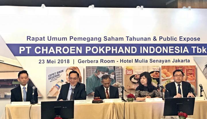 Rapat Umum Pemegang Saham PT Charoen Pokphand Indonesia