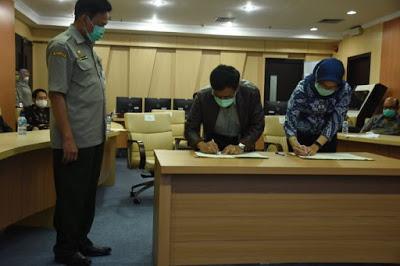 Penandatanganan MoU Ditjen PKH Kementan dengan Tokopedia (Foto: Dok. Kementan)