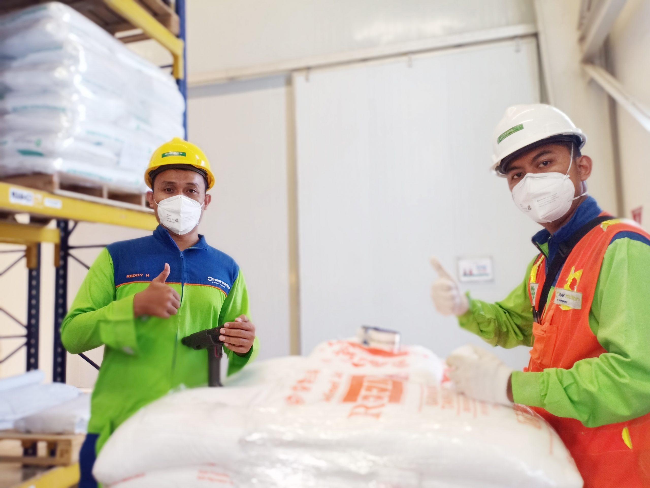 TROUW NUTRITION INDONESIA MELEWATI 1,000,000 JAM KERJA TANPA INSIDEN YANG MENGAKIBATKAN HILANGNYA WAKTU KERJA