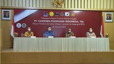 PT CHAROEN POKPHAND INDONESIA TELAH SUKSES MENGEKSPOR PRODUK OLAHAN KE NEGARA QATAR