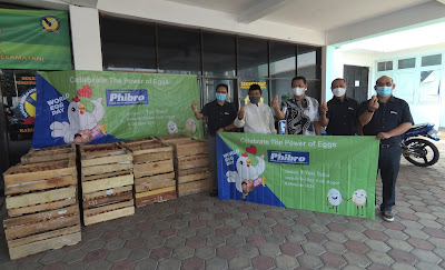 PT PHIBRO ANIMAL HEALTH INDONESIA MEMPERINGATI HARI TELUR SEDUNIA
